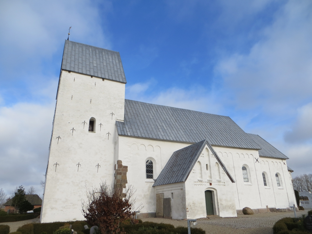 Jernved Church was built in around 1175. Photo: Charlotte Lindhardt