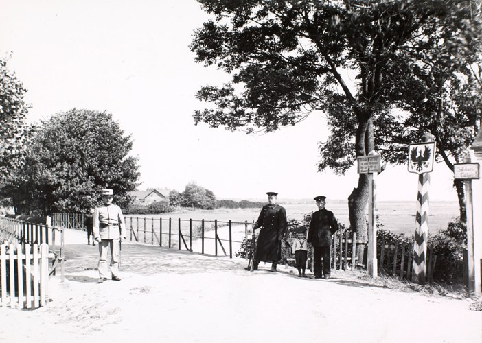 Brücke in Foldingbro, deutsche Seite. Foto: Det Kongelige Bibliotek