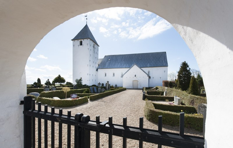 Vilslev Church. Photo: Esbjerg Town Historical Archives, Torben Meyer.