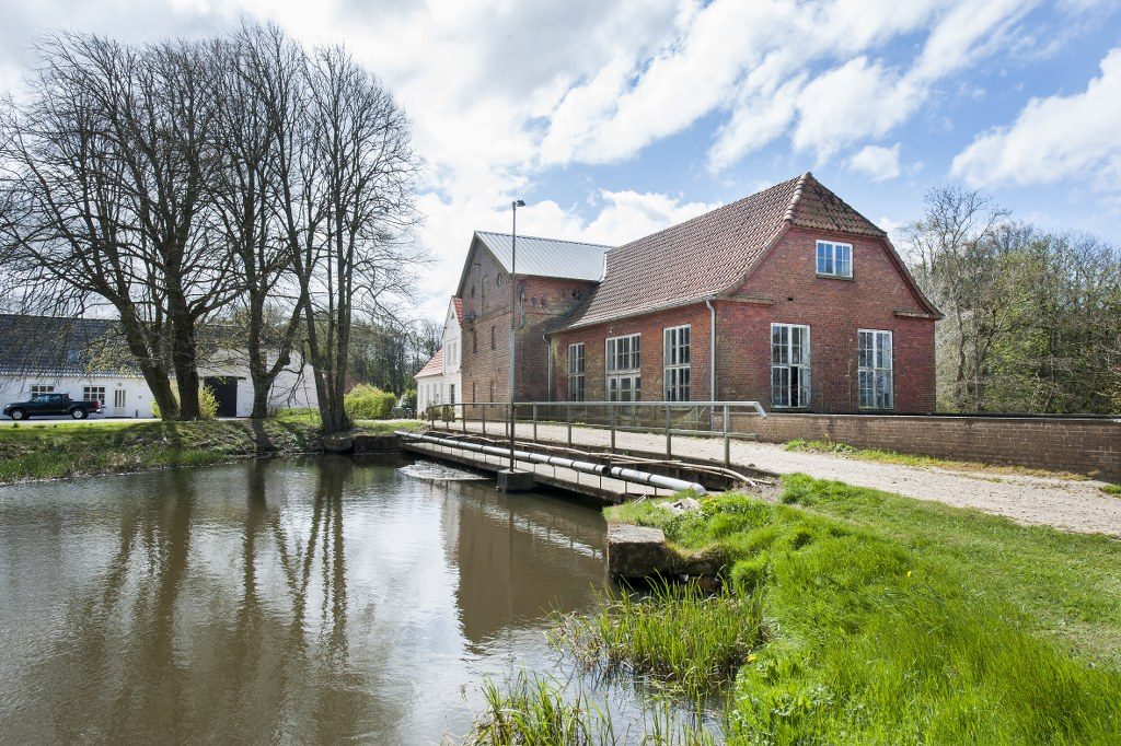 The history of Jedsted mill goes as far back as the 13th century. Photo: Torben Meyer