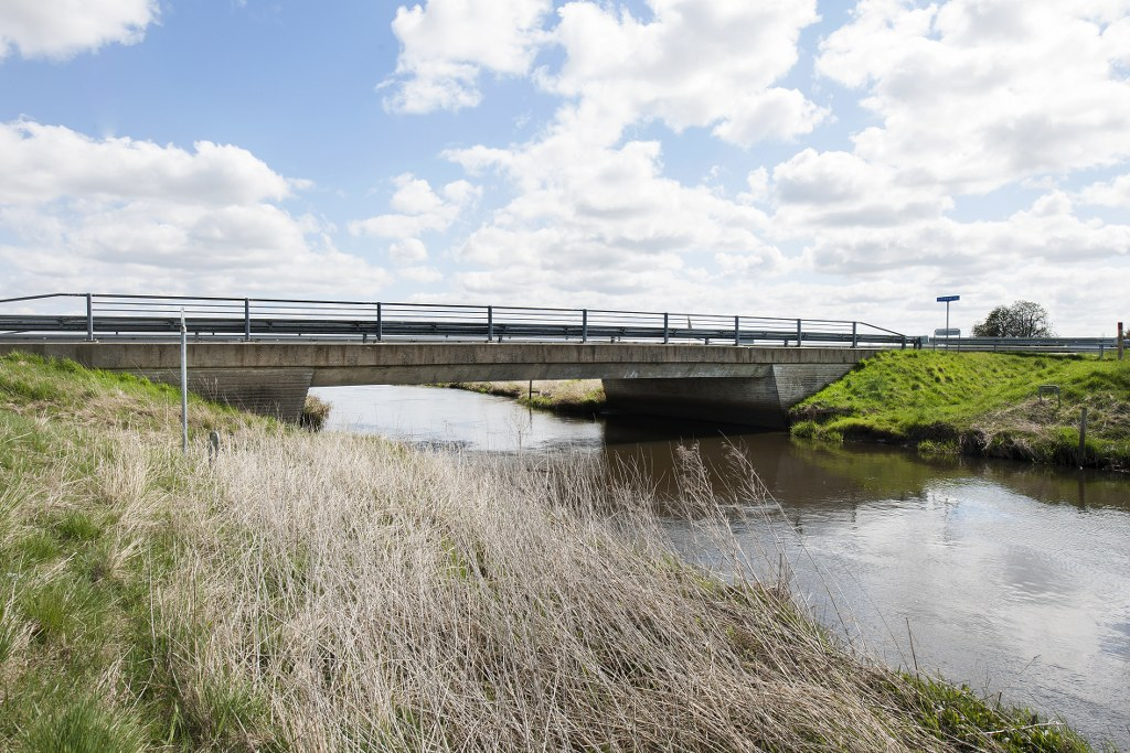 Villebøl Bro over Kongeåen. Foto: Torben Meyer.